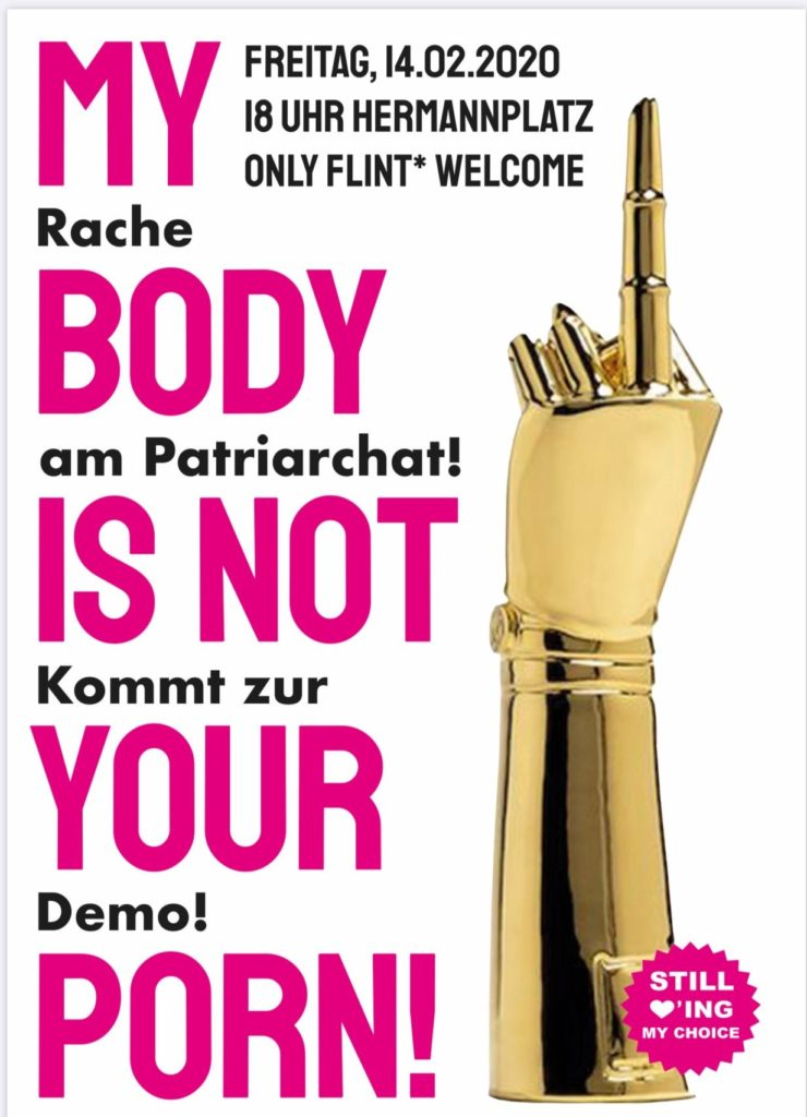 Demonstration, 14.2.2020, 18 Uhr, Hermannplatz